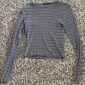 Brandy Melville Long Sleeve Striped T-shirt